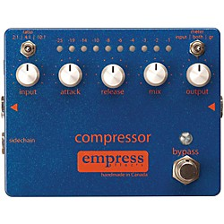 Empress Effects Compressor Analog Compression Guitar Effects Pedal (Compressor)