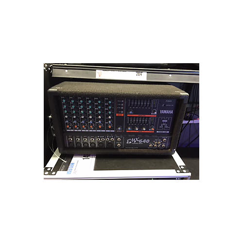 Yamaha Emx640 Powered Mixer