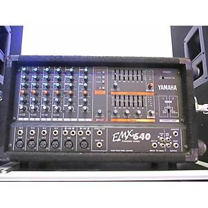 Pre-owned Yamaha Emx640 Powered Mixer by Yamaha