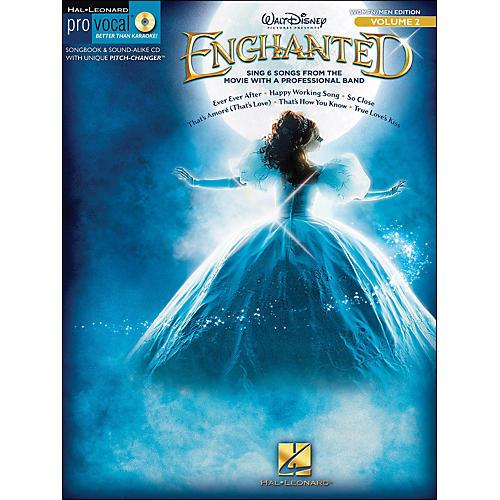 Hal Leonard Enchanted - Pro Vocal Songbook & CD for Women/Men Volume 2-thumbnail