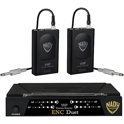 nady encore duet dual wireless instrument system band a and f guitar center. Black Bedroom Furniture Sets. Home Design Ideas