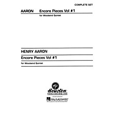 Hal Leonard Encore Pieces for Woodwind Quintet - Volume 1 (Complete Set) Houston Publishing Series