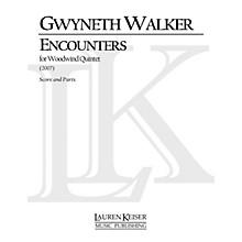 Lauren Keiser Music Publishing Encounters (for Woodwind Quintet) LKM Music Series by Gwyneth Walker