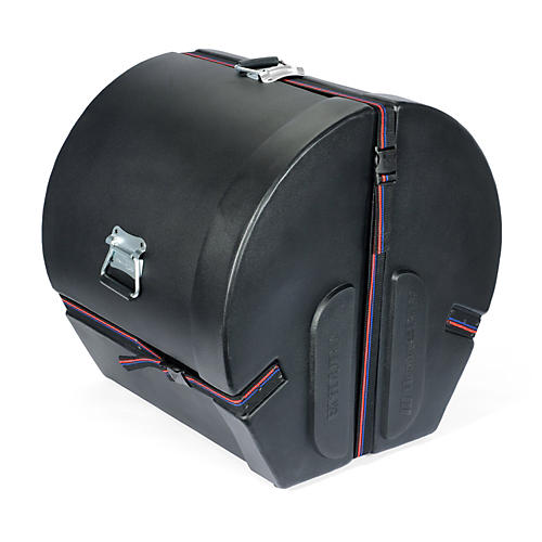 Humes & Berg Enduro Bass Drum Case Black 16x22