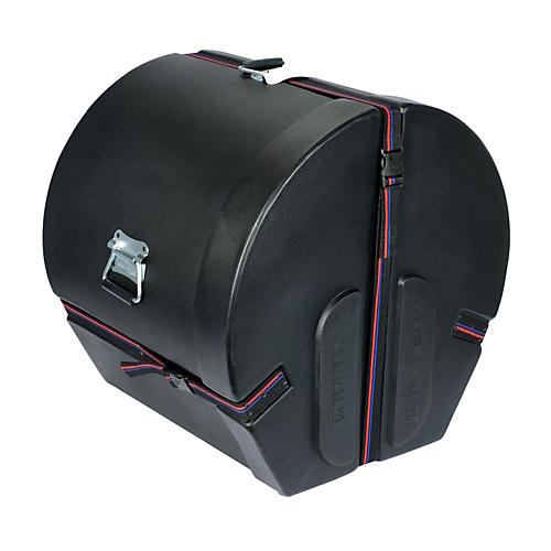 Humes & Berg Enduro Bass Drum Case with Foam Black 18x22