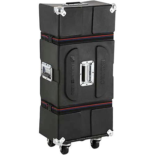Humes & Berg Enduro Hardware Case with Casters and Foam Black 45.5 in.-thumbnail
