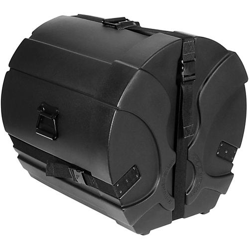 Humes & Berg Enduro Pro Bass Drum Case with Foam Black 22 x 14 in.