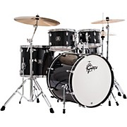 Energy 5-Piece Drum Set with Hardware Black