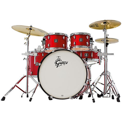 Gretsch Drums Energy 5-Piece Drum Set with Hardware and Sabian SBR Cymbals