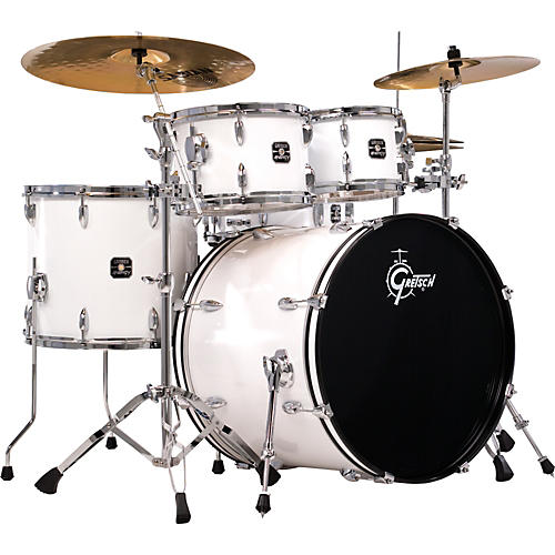 Gretsch Drums Energy 5-Piece Drum Set with Hardware and Sabian SBR Cymbals  -thumbnail