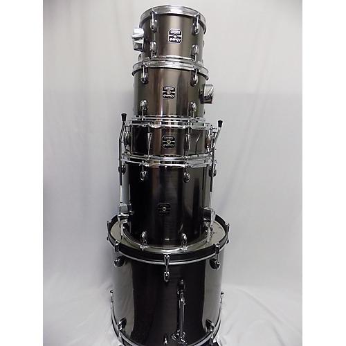 used gretsch drums energy drum kit metallic silver guitar center. Black Bedroom Furniture Sets. Home Design Ideas
