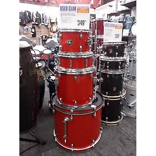 used gretsch drums energy drum kit candy apple red guitar center. Black Bedroom Furniture Sets. Home Design Ideas