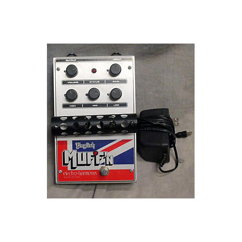 Electro-Harmonix English Muffin Overdrive Effect Pedal-thumbnail