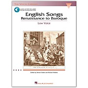 Hal Leonard English Songs (Renaissance To Baroque) for Low Voice Book/2CD's (The Vocal Library Series)