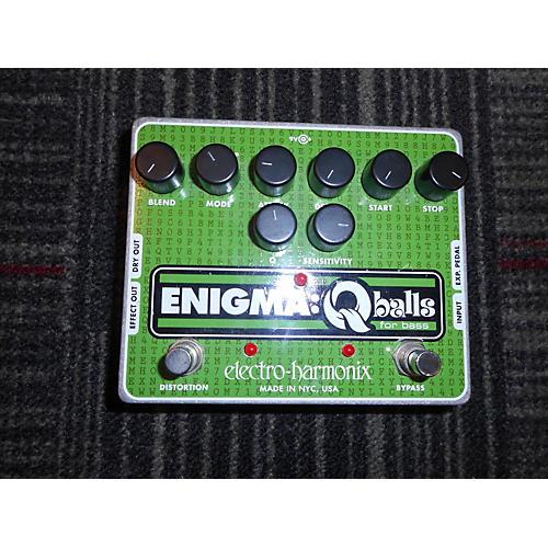 Electro-Harmonix Enigma Qballs Bass Envelope Filter Bass Effect Pedal  0