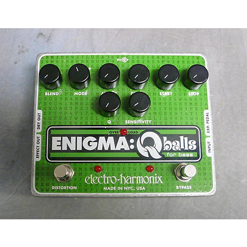 Electro-Harmonix Enigma Qballs Bass Envelope Filter Bass Effect Pedal-thumbnail