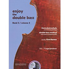 Bote & Bock Enjoy the Double Bass Series Softcover Audio Online Written by Gerd Reinke