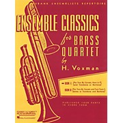 Hal Leonard Ensemble Classics for Brass Quartet Vol 1 for Two Cornets, Horn, & Trombone Or Baritone