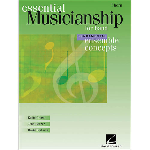 Hal Leonard Ensemble Concepts for Band - Fundamental Level French Horn-thumbnail