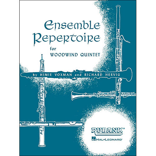 Hal Leonard Ensemble Repertoire for Woodwind Quintet Oboe-thumbnail