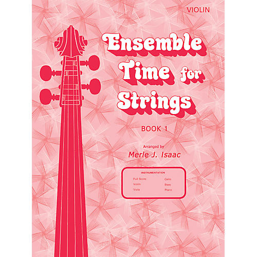 Alfred Ensemble Time for Strings Book 1 Violin