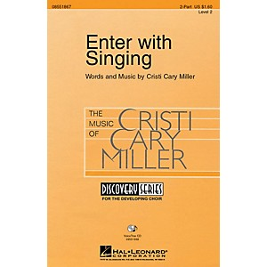 Hal Leonard Enter with Singing VoiceTrax CD Composed by Cristi Cary Miller by Hal Leonard