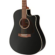Seagull Entourage CW Black GT QIT Acoustic-Electric Guitar