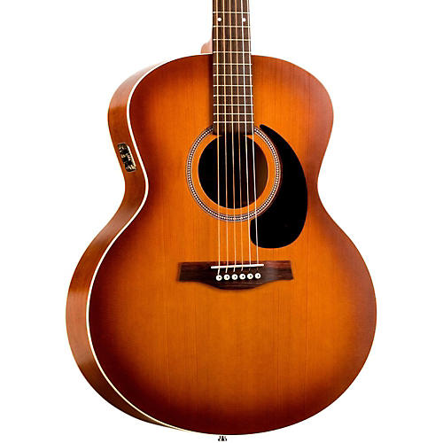 Seagull Entourage Mini-Jumbo Acoustic-Electric Guitar Rustic Burst