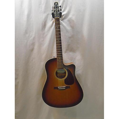 Seagull Entourage Rustic CW QI Acoustic Electric Guitar