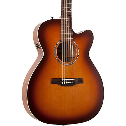 Seagull Entourage Rustic Concert Hall CW QIT Acoustic-Electric Guitar