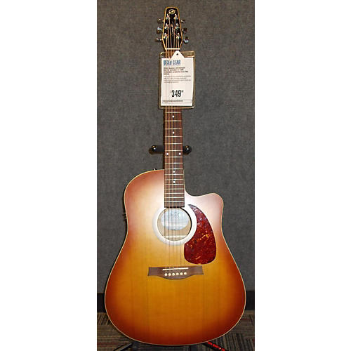 Seagull Entourage Rustic Cutaway 3 Tone Sunburst Acoustic Electric Guitar