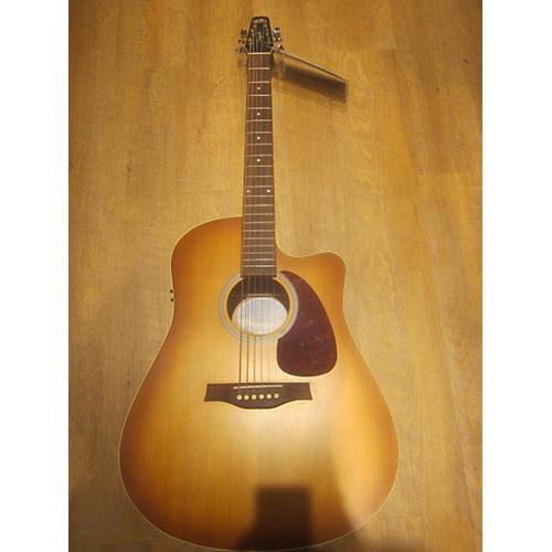 Seagull Entourage Rustic Cutaway Acoustic Electric Guitar-thumbnail
