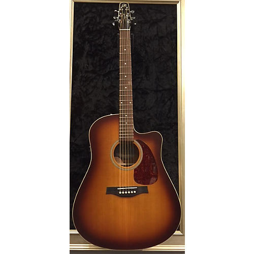 Seagull Entourage Rustic Cutaway Acoustic Electric Guitar