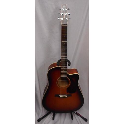 used seagull entourage rustic cutaway acoustic electric guitar rustic burst guitar center. Black Bedroom Furniture Sets. Home Design Ideas