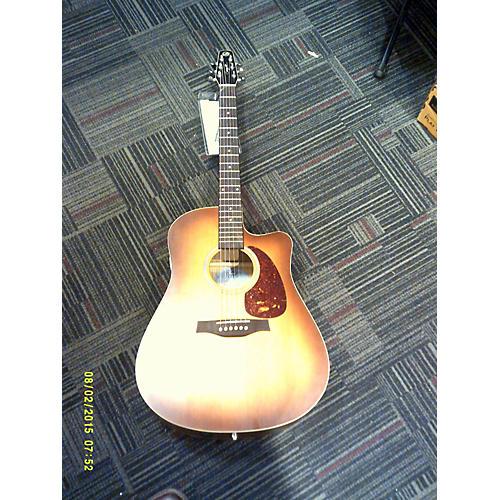 Seagull Entourage Rustic Cutaway Sunburst Acoustic Electric Guitar-thumbnail