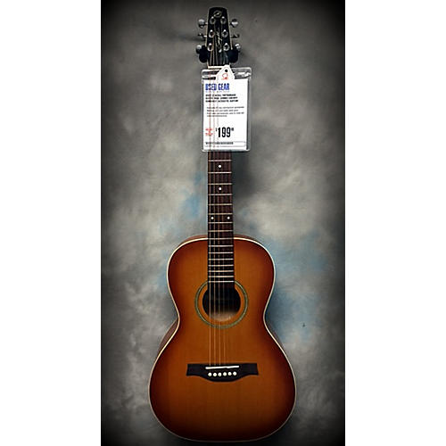 Seagull Entourage Rustic Mini Jumbo Acoustic Guitar-thumbnail