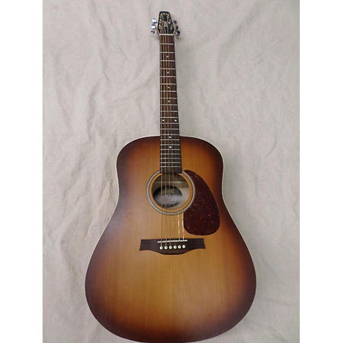 Seagull Entourage Rustic Mini Jumbo Acoustic Guitar-thumbnail