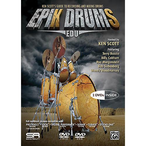Alfred EpiK DrumS EDU by Ken Scott 2 DVDs