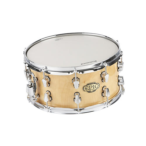 Ludwig Epic Brick Birch 20-Ply Snare Drum Super Natural 7x14