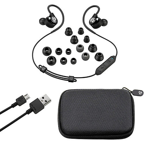 jlab audio epic2 bluetooth wireless sport earbuds guitar center. Black Bedroom Furniture Sets. Home Design Ideas