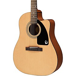 Epiphone AJ-100CE Acoustic-Electric Guitar (EE1CNACH1)