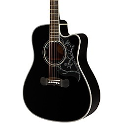 Epiphone Dave Navarro Signature Model Acoustic-Electric Guitar (EEDNEBNH1)
