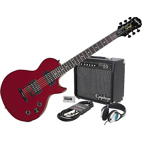 Epiphone Epiphone Les Paul Special II Electric Guitar and All Access Amp Pack