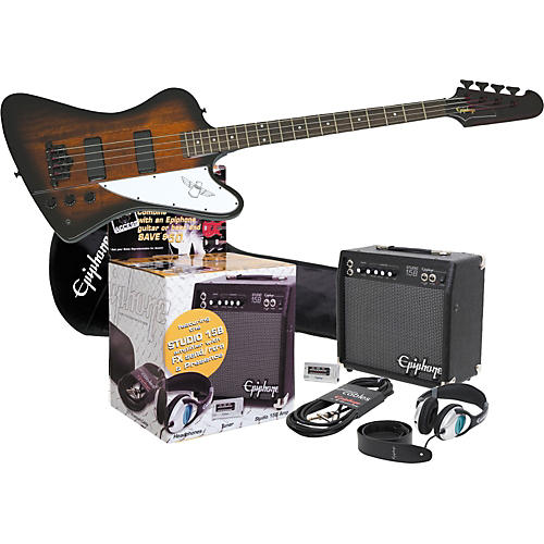 Epiphone Epiphone Thunderbird IV All Access Bass Pack