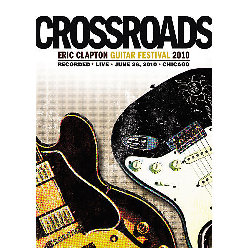 WEA Eric Clapton - 2010 Crossroads Guitar Festival 2 DVDs