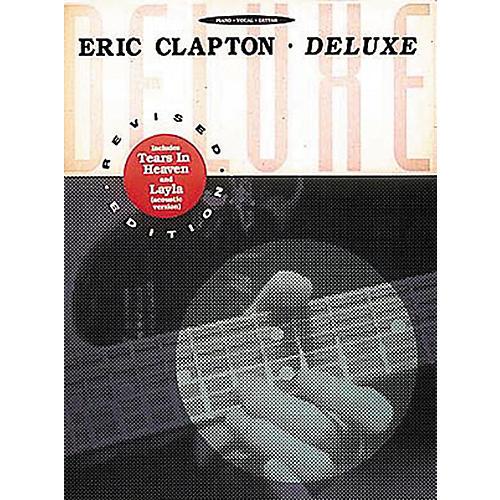 Hal Leonard Eric Clapton - Deluxe Piano, Vocal, Guitar Songbook