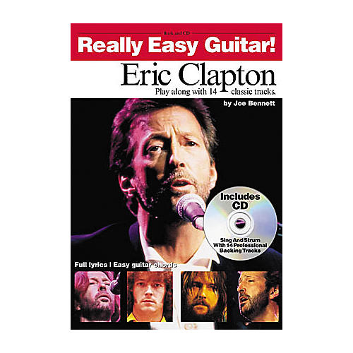 Hal Leonard Eric Clapton - Really Easy Guitar (Book/CD)-thumbnail