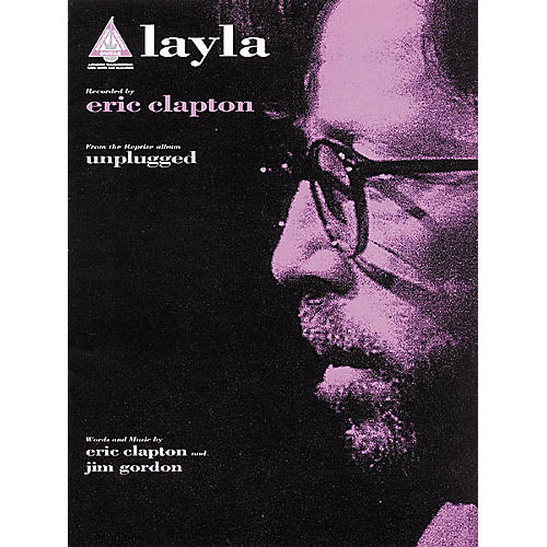 Hal Leonard Eric Clapton: Layla Guitar Sheet Music Book-thumbnail