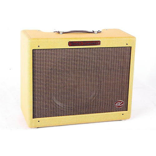 Fender Eric Clapton Signature EC Tremolux 12W 1x12 Hand-Wired Tube Guitar Combo Amp Tweed 888365263496