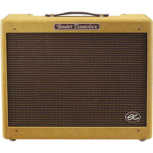 Fender Eric Clapton Signature EC Tremolux 12W 1x12 Hand-Wired Tube Guitar Combo Amp-thumbnail
